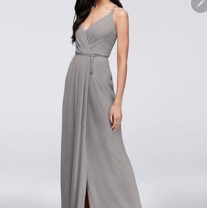 True Wrap Style Bridesmaid's Dress